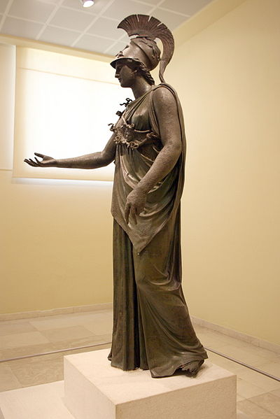 File:7360 - Piraeus Arch. Museum, Athens - Athena - Photo by Giovanni Dall'Orto, Nov 14 2009.jpg