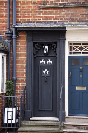 78 Derngate - The front door