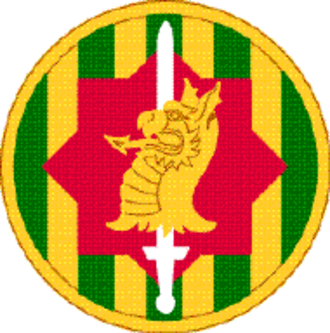89th Military Police Brigade (United States) - 89th Military Police Brigade shoulder sleeve insignia