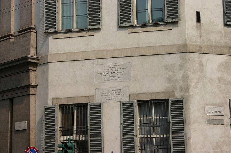 File:9001 - Milano - Corso Venezia - Simone Cantoni, Palazzo Serbelloni (1793) - Foto Giovanni Dall'Orto 25-Apr-2007.jpg