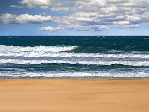 Lakes Entrance, Victoria - Image: 90 mile beach