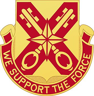 927th Combat Service Support Battalion - Distinctive Unit Insignia