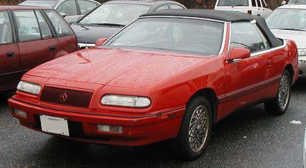 Chrysler lebaron wikiwand 19931995 chrysler lebaron convertible sciox Choice Image