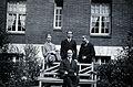 A. George, L. Destoucher, R. Valletto and de Broglie, in fro Wellcome V0028215.jpg