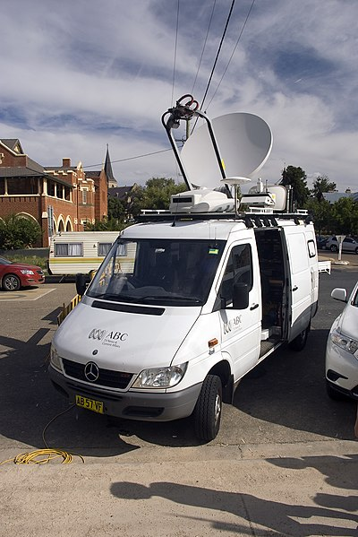 File:ABC News and Current Affairs broadcast van.jpg