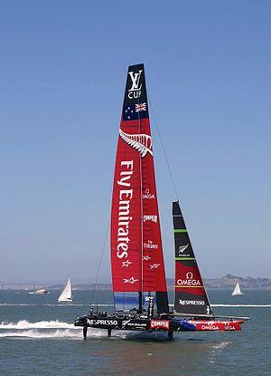 AC72 - Team New Zealand AC72, San Francisco Bay