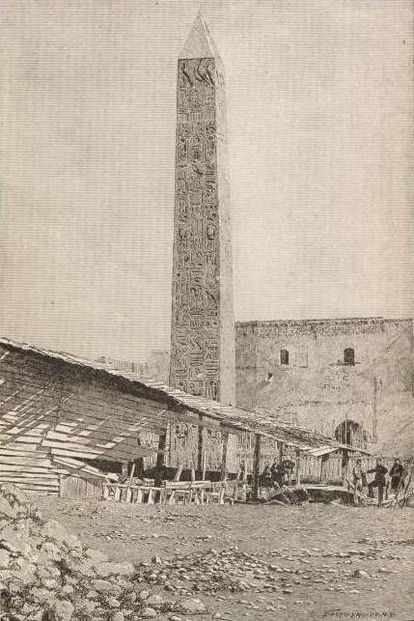 File:ACSIE010 - The Obelisk now in Central Park, New York, as it Stood in Alexandria, Egypt.jpg