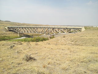 AJX Bridge over South Fork and Powder River United States historic place