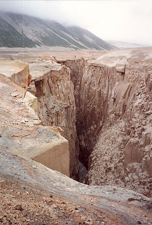 Alaska Peninsula - Gorge in Valley of 10,000 Smokes