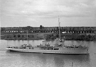 Bouchard-class minesweeper - Image: ARA Bouchard