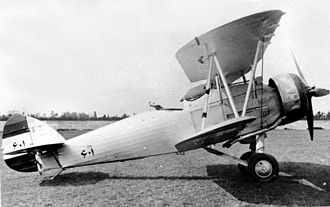 Hawker Hind - A Bristol Mercury-engined Hind of the Imperial Iranian Air Force
