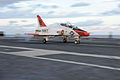 A U.S. Navy T-45C Goshawk aircraft attached to Training Air Wing (VT) 1 is launched from the flight deck of the aircraft carrier USS Theodore Roosevelt (CVN 71) in the Atlantic Ocean Oct. 30, 2013 131030-N-CQ428-088.jpg