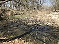 A curve in the creek at Rock Creek Crossing in Council Grove, KS (f63ca21ccc4d4d1c8d35c5653a6a9e7e).JPG