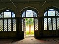 A glass panelled hall in the sarai around Safdarjung's tomb.jpg