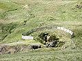 A group of shafts at Moel y Croesau (Prince Edward) goldmine - geograph.org.uk - 444270.jpg