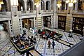 A view of one of the halls. Kelvingrove Art Gallery and Museum, Glasgow, Scotland..JPG