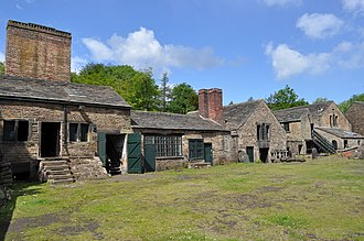 Abbeydale Industrial Hamlet - The site's Crucible Furnace building