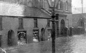 Abernant, Rhondda Cynon Taf - Image: Abernant flooding Dec 1912 2