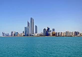 Middle East - Image: Abu Dhabi Skyline from Marina