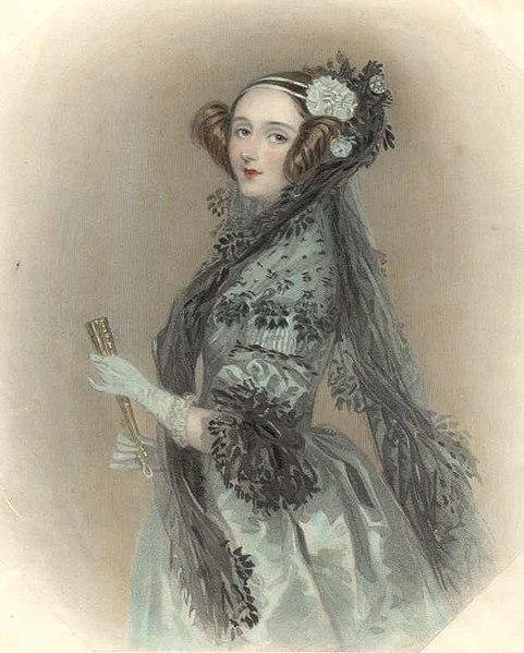 Ada Lovelace image at Wikimedia Commons