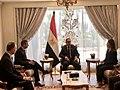 Adam Boehler meets with Moustafa Madbouly in Cairo - 2019.jpg