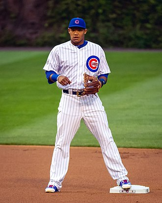 2016 World Series - Addison Russell had six runs batted in in Game 6, tying a Series record.
