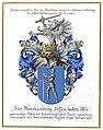 Adelsdiplom - Panesch von Hohenstegen 1918 - Wappen.jpg