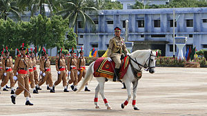 Bangladesh Military Academy - Adjutant in the passing out parade