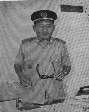 Administrator of the Government of North Sumatra Abdul Hakim Nasution, Almanak Pemerintah Daerah Propinsi Sumatera Utara (1969), p27.jpg