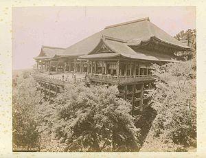 Kiyomizu-dera - Kiyomizu-dera circa 1880 by Adolfo Farsari