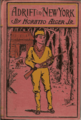 Adrift in New York by Horatio Alger - cover - Project Gutenberg eText 18581.png
