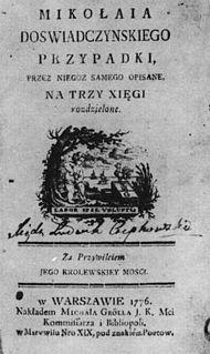 <i>The Adventures of Mr. Nicholas Wisdom</i> book by Ignacy Krasicki