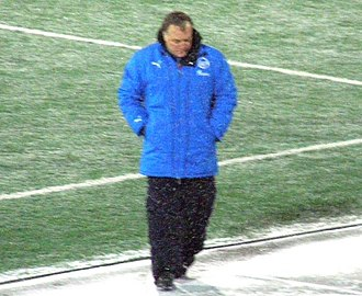 Dick Advocaat - Dick Advocaat with Zenit Saint Petersburg in 2008.