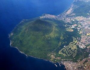 Kaimondake volcano - Image: Aerial Photo of Kaimondake