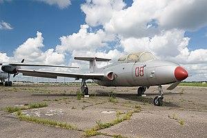 Aero L-29 Delfín - Aero L-29 at Kaunas airport