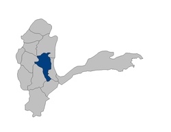 Location of Baharak