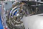 Afterburner of sectioned Rolls-Royce Turboméca Adour turbofan (3).jpg