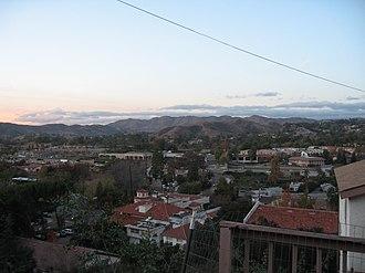 East Agoura, Agoura Hills, California - Agoura Hills, with East Agoura on right.