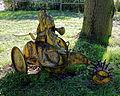 Agricultural tiller at Feeringbury Manor, Feering Essex England 2.jpg