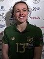 Aine O'Gorman Republic of Ireland mix zone 2020-03-05 (cropped).jpg