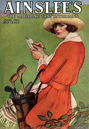 Ainslee's Magazine - June 1921 cover