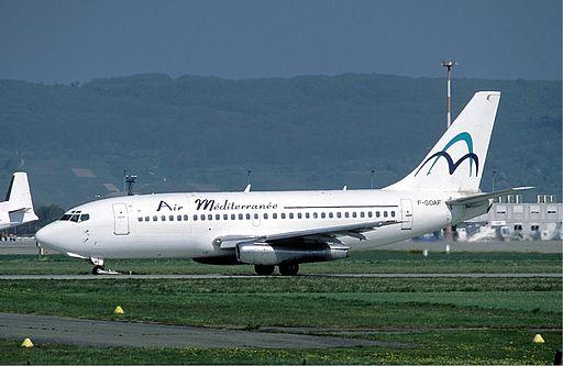Air Mediterranee Boeing 737-200 Marmet
