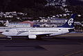 Air New Zealand Boeing 737-319; ZK-NGH, March 2001 CYT (5028115536).jpg
