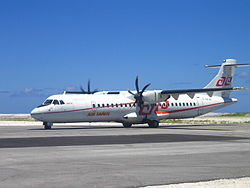 ATR72 der Air Tahiti