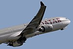 Airbus A330-302 Qatar Airways A7-AEF (8788966026).jpg