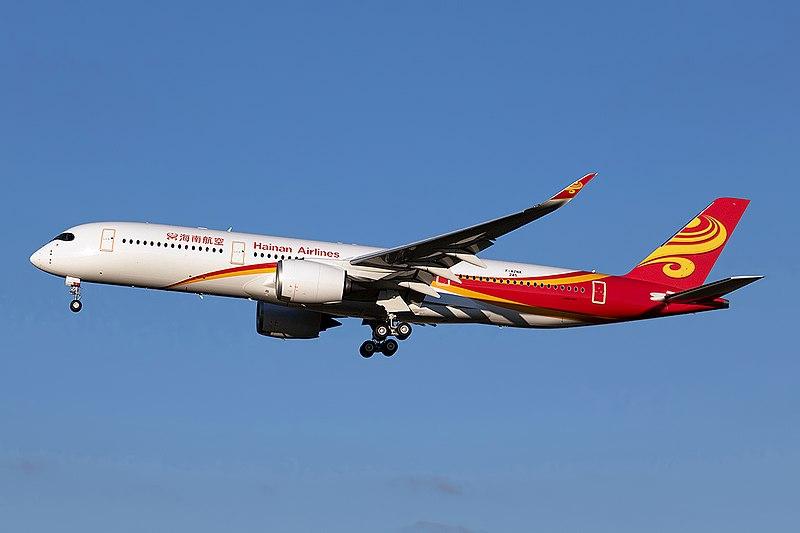 File:Airbus A350-941, Hainan Airlines JP9095347.jpg