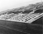 Aircraft parked at Naval Air Station Quonset Point, in 1943 (38330045).jpg