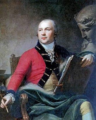 Ivan Akimov - Ivan Akimov. Portrait by Johann Baptist von Lampi the Younger