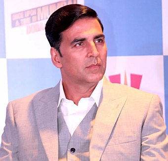 Akshay Kumar, one of the most successful Bollywood actors since the 1990s, in 2013. Akshay Kumar.jpg