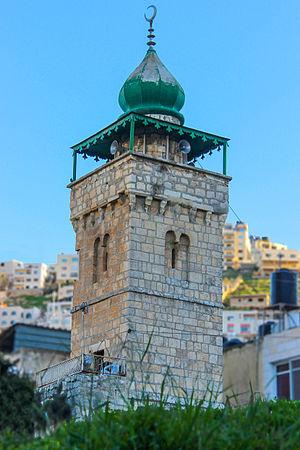 Al-Khadra Mosque - The minaret of the mosque, 2015